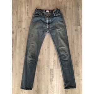 Re/Done Redone Skinny Straight Levi's Jeans 24
